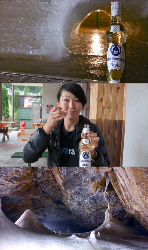fun fundraising idea Take shots of Slivovica in an Ice Cave
