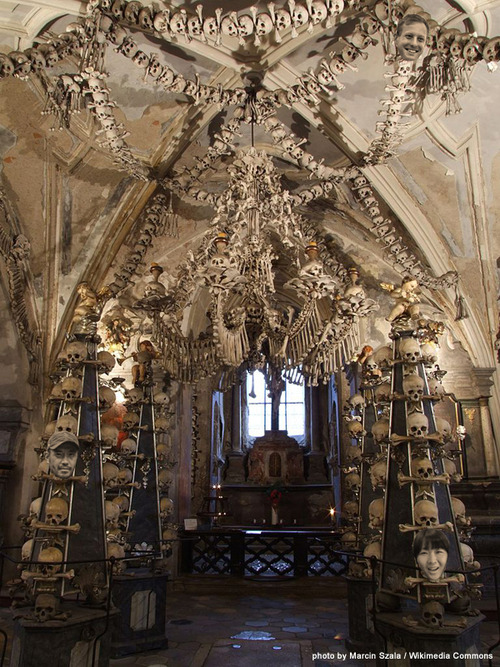 fun fundraising idea Deliver a Prayer at Sedlec Ossuary