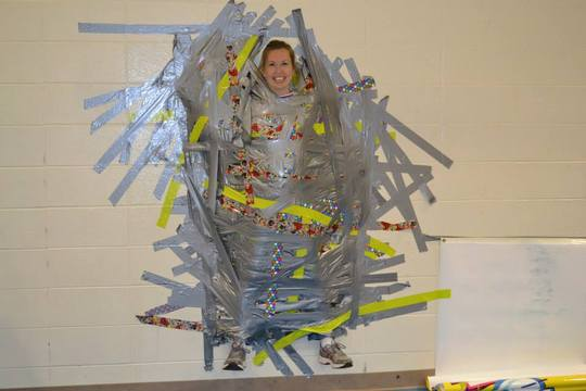fun fundraising idea Duct Tape Somebody!